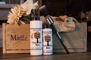 Pure Home Paint, Matte sealer, poly, chalk paint