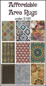 area rugs, affordable rugs, under $100,