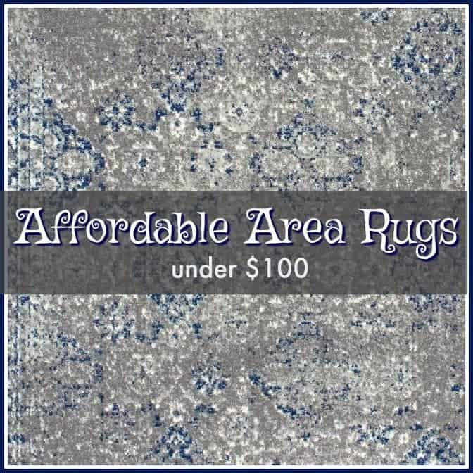 Affordable Area Rugs Under $100