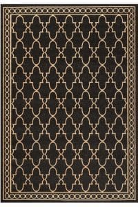black-pattern-rug, traditional area rug, classic rug, black rug,