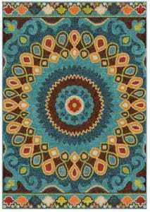 bold-and-fun-area-rug, colorful area rug, affordable area rugs
