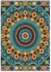 bold-and-fun-area-rug, colorful area rug