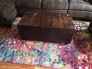 colorful rugs. Colorful Area Rug, Brown Sofa, Affordable Rugs