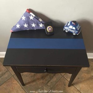 nypd thin blue line