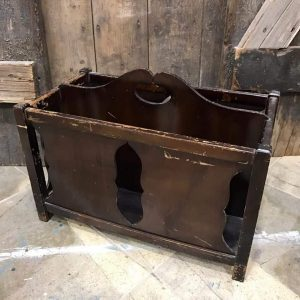 magazine-rack-unfinished, vintage magazine rack