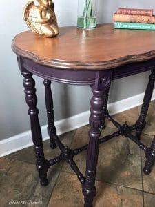 vibrant splatter, wood stain, non toxic paint, furniture store, staten island