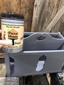 slate-gray-paint, pure home paint, chalk paint