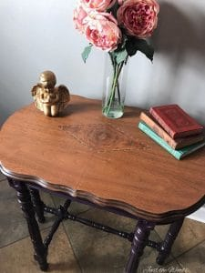 repaired wood table, painted furniture, chalk paint, staten island, ny, nj