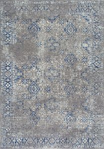 vintage blue area rug, hazy gray rug, blue gray area rug, affordable rugs, area rugs under $100