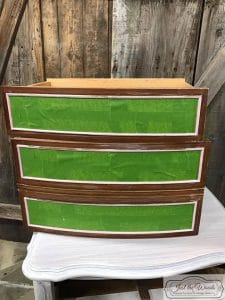 frog-tape, painted furniture, painters tape,