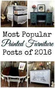 most-popular-painted-furniture, painted furniture, decoupage, vintage furniture, chalk paint