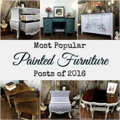 Most Popular Painted Furniture Posts of 2016