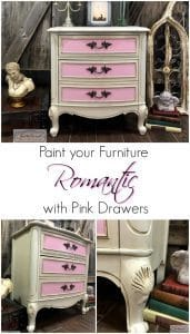 romantic-furniture, french provincial, pink chalk paint