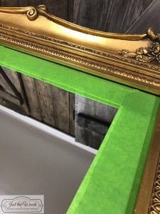 taped-off-mirror, vintage mirrors, antique ornate mirrors, wall mirror