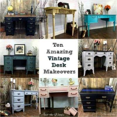 Ten Amazing Vintage Desk Makeovers