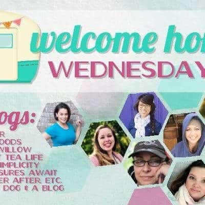 Welcome Home Wednesdays Link Party #80