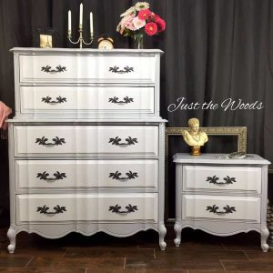french-provincial-painted-dressers, gray painted furniture, french provincial painted furniture, painted dressers
