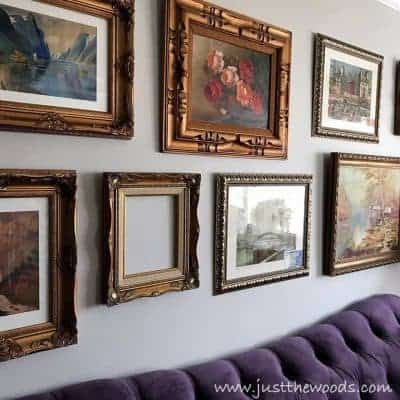 Change the Look of Your Gallery Wall with New Frames