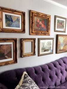 gallery-wall-with-sofa, gallery wall, how to improve, staten island
