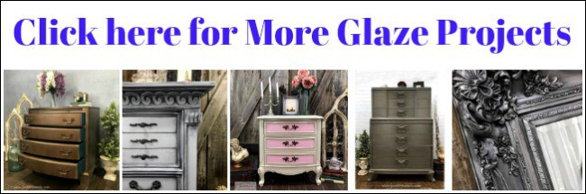 glaze painted furniture, glazing furniture