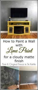 how-to-paint-a-wall, fresco, lime paint, tin kettle, pure and orginal