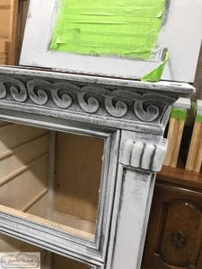 painted details, chalk paint, french country, gustavian style, painted jewelry chest, nyc
