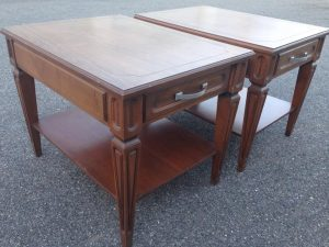 mersman-3, vintage tables, MCM tables, wood furniture, staten island, new york