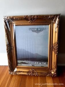new-vintage-style-frames, gallery wall, ornate frames, gold frames
