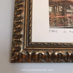 ornate-frame-french-image, gallery wall, new york, vintage style