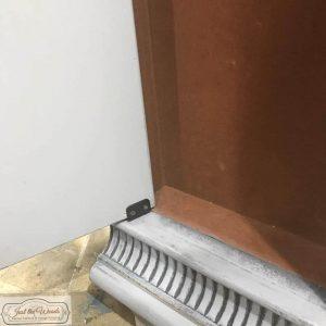 new hinge, repair broken door, replace door hinge, jewelry chest