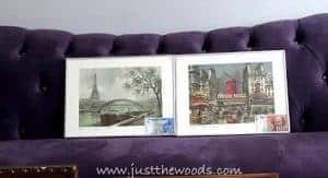simple-silver-metal-frames, french prints