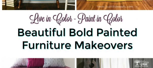 painted furniture, chalk paint, bold colors, bold painted furniture, just the woods
