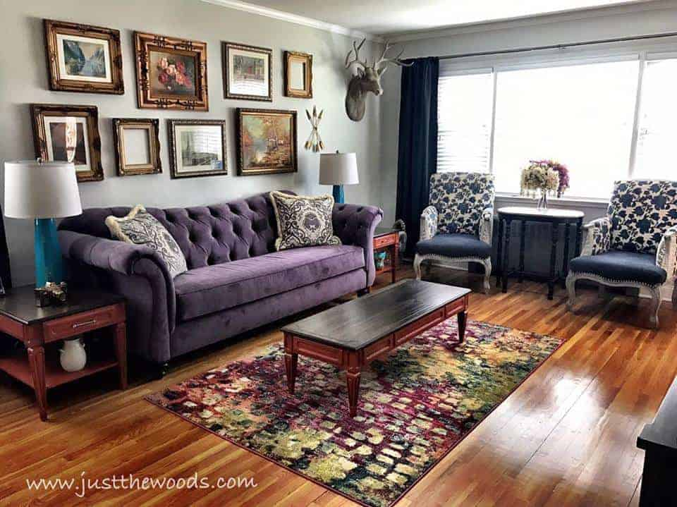 your purple home match complement ceiling balustrade sofa livings room how to glass couch a cor decorating d trends modern homedit living by and