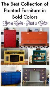bold-painted-furniture, painted furniture, bold colors, colorful painted furniture