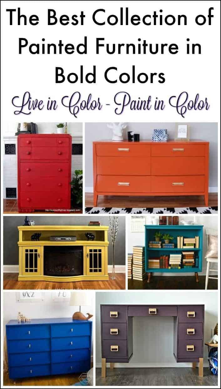 Bold painted furniture #paintedfurniture #boldpaintedfurniture #colorfulpaintedfurniture #furnituremakeovers