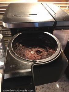 coffee-pot-grinds, garden compost, how to compost, staten island, garden