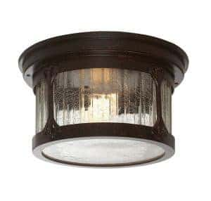 Perfect outdoor and porch lights under 100 by just the woods crackled glass ceiling porch light aloadofball Image collections
