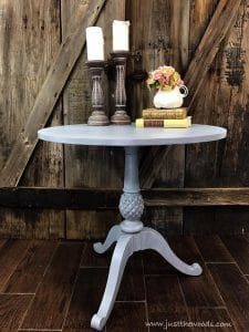 ethan-allen-painted-table, painted table, new york, staten island, shabby chic, distressed, chalk paint