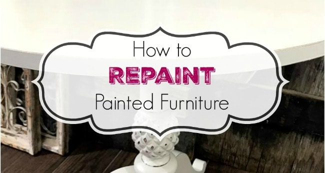 repainting furniture, pedestal table