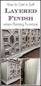 layered paint, dry brush, ornate furniture, painted furniture