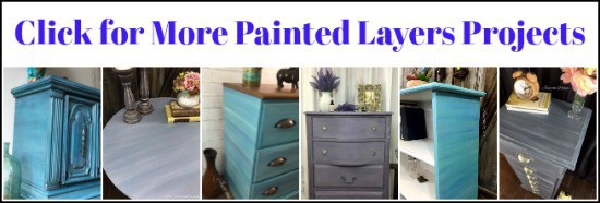 paint layers, paint layers on furniture, layering paint, chalk paint