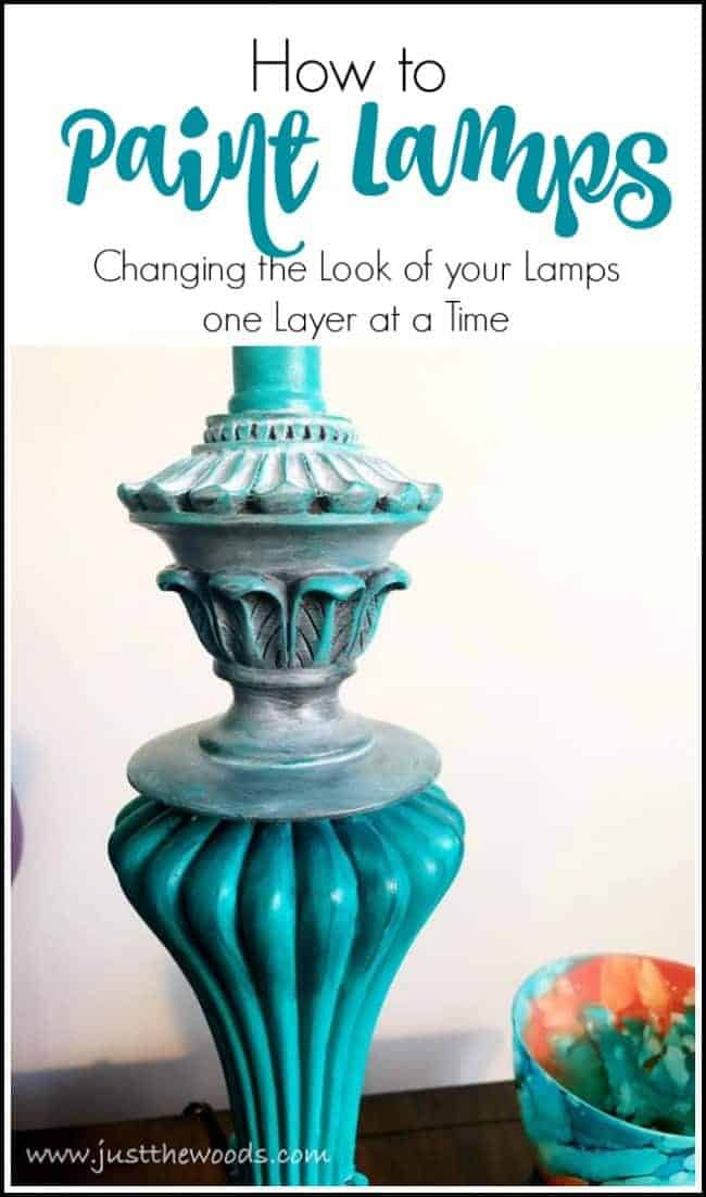 how to paint lamps, painting lamps, hand painted lamp base, how to paint a lamp