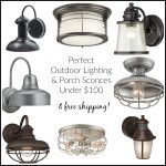 Perfect Outdoor and Porch Lights Under $100