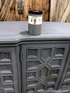 slate, kristi kuehl, pure home paint, chalk paint, gray paint, painted furniture