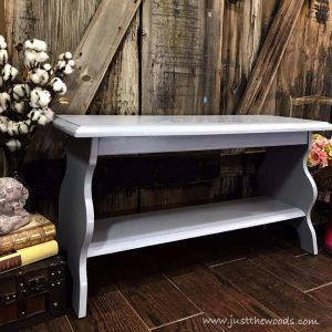 small-bench, painted bench, french stencil, entry bench, mud room
