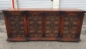 vintage-buffet, ornate buffet, vintage furniture, unfinished furniture, staten island, new york
