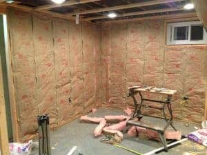 insulation, insulating a basement