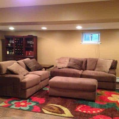 Basement Makeover – From Concrete to Complete