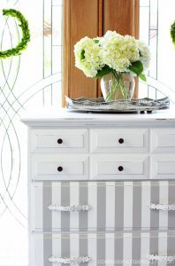 french-linen-and-white-striped-dresser