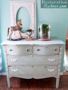 stenciled-painted-antique-dresser